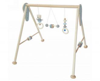 Babyspielgerät, nature blue