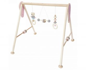 Babyspielgerät, nature rosa