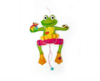 Hampel-Frosch mit Ball