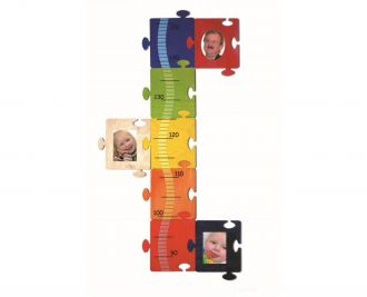 Meßlatte Bilder-Puzzle