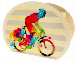 Money box, racing bike